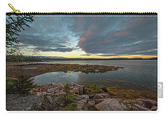 Somes Sound Sunset Carry-all Pouch