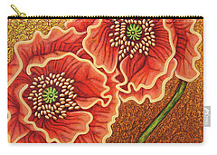 Carry-all Pouch featuring the painting Southern Comfort by Amy E Fraser