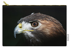 Sparkle In The Eye - Red-tailed Hawk Carry-all Pouch