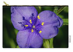 Spiderwort Flower Carry-all Pouch