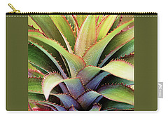 Carry-all Pouch featuring the photograph Spiny Succulent I by Leda Robertson