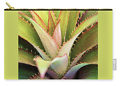 Carry-all Pouch featuring the photograph Spiny Succulent II by Leda Robertson