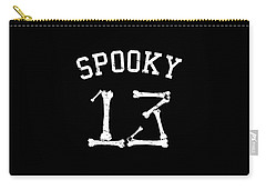 Spooky 13 Halloween Jersey Carry-all Pouch