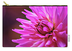Carry-all Pouch featuring the photograph Spotlight On Dahlia by Mary Jo Allen