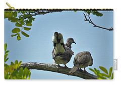 Spotted Doves Pair Carry-all Pouch