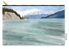 Spring Break The Alaska Highway At Muncho Lake Carry-all Pouch