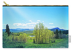 Carry-all Pouch featuring the photograph Spring On The Western Slope Colorado by Mike Braun