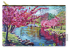 Spring Soliloquy Carry-all Pouch