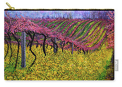 Spring Vineyard Carry-all Pouch