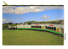 Carry-all Pouch featuring the photograph St Kitts Railway by Tony Murtagh
