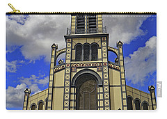 Carry-all Pouch featuring the photograph St. Louis Cathedral by Tony Murtagh