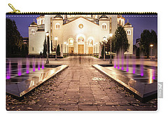 St. Sava Temple In Belgrade Nightscape Carry-all Pouch