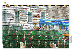 Stacked Lobster Traps Carry-all Pouch