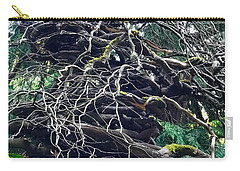 Stacked Tree Carry-all Pouch