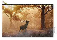 Stag In The Forest Carry-all Pouch