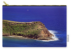 Carry-all Pouch featuring the photograph Standfast Point by Tony Murtagh