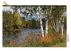 Stark, Nh Fall White Birch  Carry-all Pouch