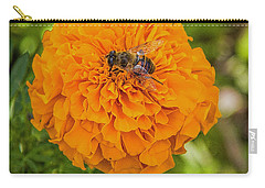 Carry-all Pouch featuring the photograph Stay Busy by Jon Burch Photography