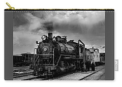Steam Locomotive In Black And White 1 Carry-all Pouch