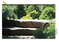 Stone Stairs In Chicago Botanical Gardens Carry-all Pouch