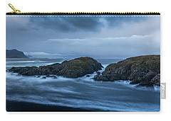 Storm At The Sea Carry-all Pouch