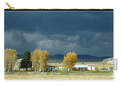 Carry-all Pouch featuring the photograph Storm Brewing by Rosanne Licciardi