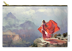 Carry-all Pouch featuring the painting Storm Maiden by Steve Henderson