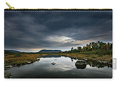 Stormy Day In Maine Carry-all Pouch