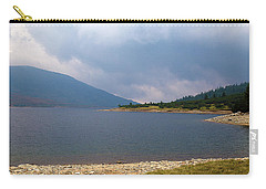 Carry-all Pouch featuring the photograph Stormy by Milena Ilieva