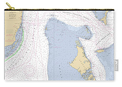 Straits Of Florida, Eastern Part Noaa Nautical Chart Carry-all Pouch