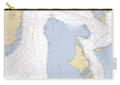 Straits Of Florids, Eastern Part Noaa Chart 4149 Edited. Carry-all Pouch