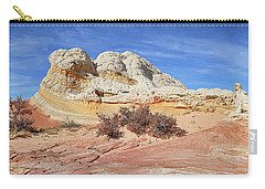 Carry-all Pouch featuring the photograph Strange Structures by Theo O'Connor