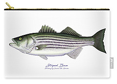 Striped Bass Carry-all Pouch