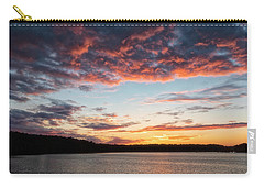 Carry-all Pouch featuring the photograph Stumpy Lake Sunset by Russell Pugh