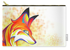 Stylized Fox I Carry-all Pouch