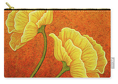 Carry-all Pouch featuring the painting Sultry Sway by Amy E Fraser