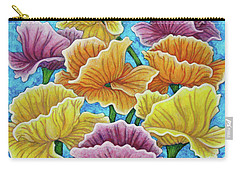 Carry-all Pouch featuring the painting Summer Afternoon by Amy E Fraser