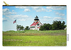 Summer At East Point Lighthouse II Carry-all Pouch