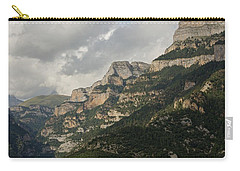 Carry-all Pouch featuring the photograph Summer In The Anisclo Canyon by Stephen Taylor