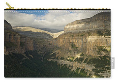 Carry-all Pouch featuring the photograph Summer Magic In The Ordesa Valley by Stephen Taylor