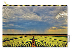 Summer Storm In The Corn Fields Carry-all Pouch