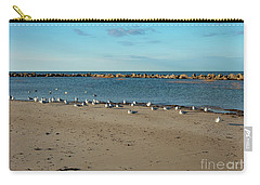 Sun Bathers At Corporation Beach Cape Cod Carry-all Pouch