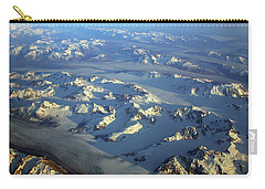 Sun Kissed Glaciers Carry-all Pouch