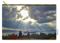 Sun Rays Over Rangeley Lake Carry-all Pouch