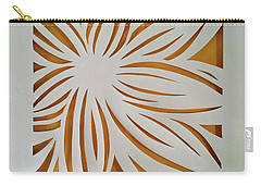 Sunburst Petals Carry-all Pouch