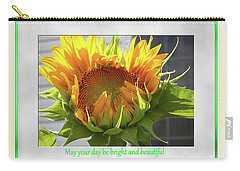 Sunflower Birthday Carry-all Pouch