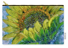 Sunflower Happiness Carry-all Pouch
