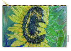 Sunflower Smiles Carry-all Pouch