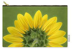 Sunflower Sunrise - Botanical Art Carry-all Pouch
