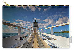 Carry-all Pouch featuring the photograph Sunny Skies At Marshall Point by Rick Berk